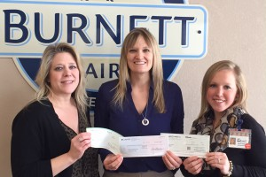 Burnett Dairy Awards Healthy Burnett $2000