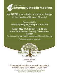 Community Forum @ Burnett County Government Center