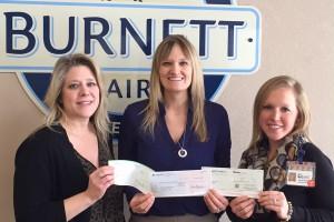 Burnett Dairy Awards Healthy Burnett $2000
