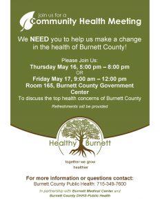 Community Forum @ Burnett County Government Center